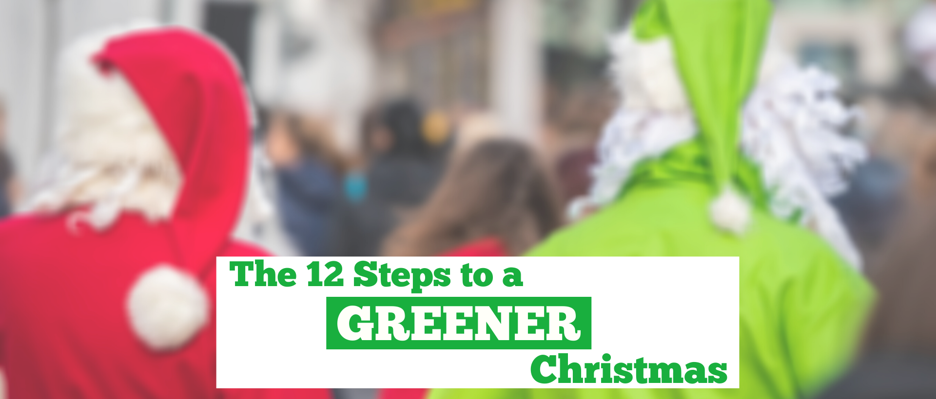 The 12 Steps to a Greener Christmas
