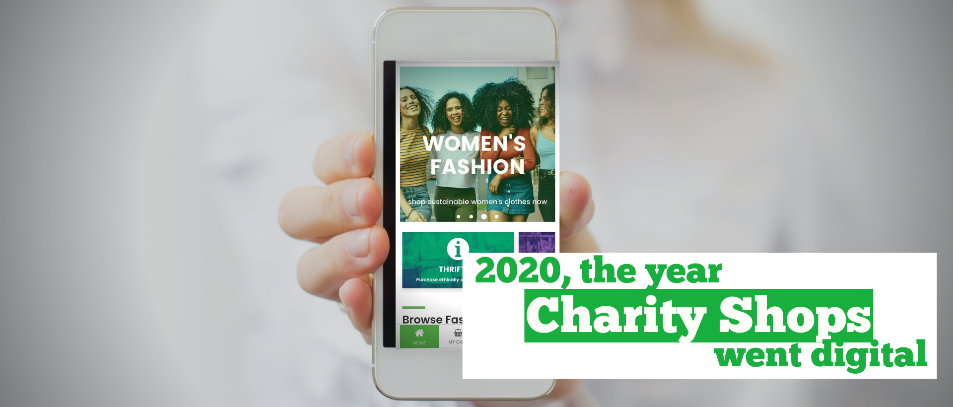 2020 and the Rise of the Online Charity Shop