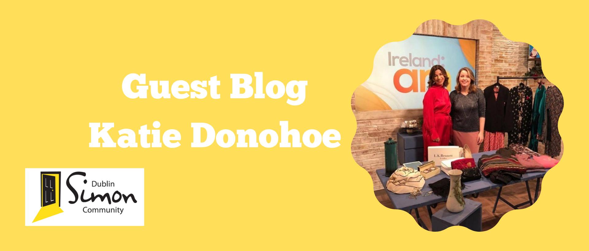 Guest Blog - Katie Donohoe Dublin Simon Community